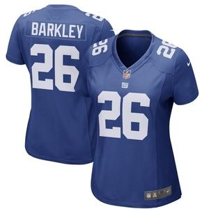 brand new b0cd9 a4796 Women's New York Giants Saquon Barkley Jersey NWT